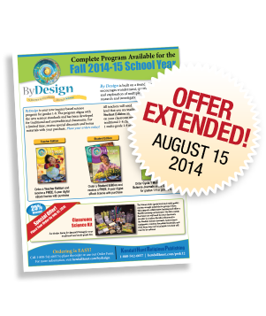 Introductory offer for all schools. Please your order before July 31, 2013 and Save! »